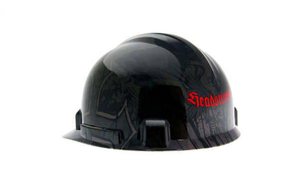 Safety hardhat - skullwings